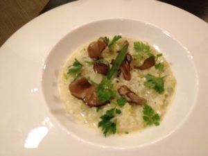 We also shared their version of risotto. Amazing.